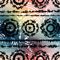 Pattern in style seamless background will tile endlessly tie dye on a pixels background Royalty Free Stock Image