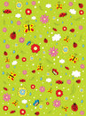 Pattern_summer Stock Image