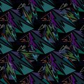 Abstract seamless pattern for girls, boys, clothes. Royalty Free Stock Photo