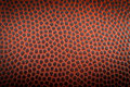 Pattern of the texture of a american footballball Royalty Free Stock Photo