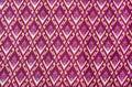 Pattern on thai cloth Stock Photos
