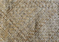 Pattern of Thai wood weaving Royalty Free Stock Photo