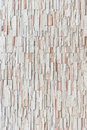 Pattern of travertine natural stone wall texture and background Royalty Free Stock Photo