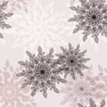 Pattern vintage pale flower seamless Stock Photo