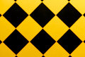 Pattern of the wall with a black triangle Royalty Free Stock Photo