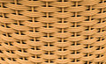 Pattern of weave basket Stock Photo