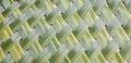 Pattern Weaving Of Coconut Lea...