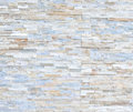 Pattern of White Modern stone Brick Wall Surfaced Royalty Free Stock Photo