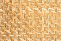 Pattern of wickerwork thai style made from bamboo Stock Image