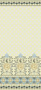 Pattern with wide bordure Royalty Free Stock Photo