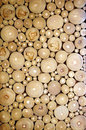 Pattern of the wood pieces background Royalty Free Stock Photography
