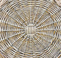 The pattern of woven wicker background Royalty Free Stock Images