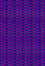 Patterned Beads purple pink Royalty Free Stock Photo