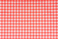 Patterned napkin in red background Stock Image