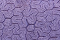 Patterned paving tiles, cement brick floor background Royalty Free Stock Photo