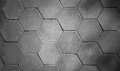 Patterned paving tiles, cement brick floor background black and Royalty Free Stock Photo