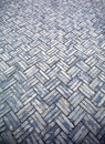 Patterned stone floor Stock Photo