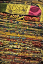 Patterned Turkish fabric Royalty Free Stock Photo