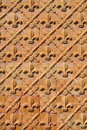 Patterned wall Royalty Free Stock Photography