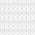 Patterned wallpaper seamless white vector illustration Stock Photos