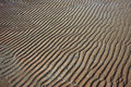 Patterns of sand Royalty Free Stock Photo