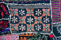 Patterns On Textile Blanket Wi...