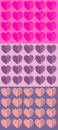 Patterns for Valentine`s day.