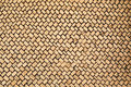 Patterns of woven bamboo Stock Photos