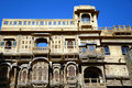 Patwon ki haveli in jaisalmer india Stock Photography