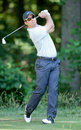 Paul Casey at the 2011 US Open. Stock Images