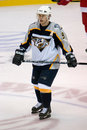 Paul Kariya of the Nashville Predators Royalty Free Stock Photo