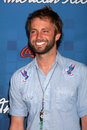 Paul mcdonald los angeles arrives at the american idol season finalists party at the grove on march in los angeles ca Royalty Free Stock Photo