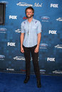 Paul mcdonald los angeles arrives at the american idol season finalists party at the grove on march in los angeles ca Royalty Free Stock Photos