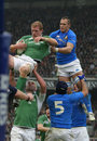Paul O'Connell,Ireland V Italy,6 Nations Rugby Royalty Free Stock Photography