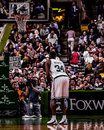 Paul pierce boston celtics image from a color slide Royalty Free Stock Photos
