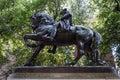 Paul Revere square statue Boston Royalty Free Stock Photo