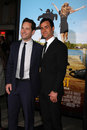 Paul Rudd, Justin Theroux Royalty Free Stock Photo