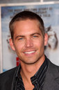 Paul walker at the premiere of eight below el capitan los angeles ca Royalty Free Stock Images