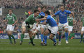 Paul Wallace,Ireland V Italy,6 Nations Rugby Stock Photos