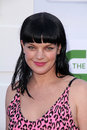 Pauley perrette at the cbs showtime and cw party tca summer tour party beverly hilton beverly hills ca Royalty Free Stock Photos