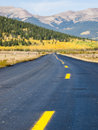 Paved road Royalty Free Stock Image