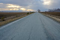 Paved road Russia