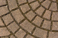Pavement gray bricks concrete for texture or background Royalty Free Stock Photography