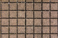 Pavement gray square concrete for texture or background Royalty Free Stock Images