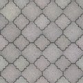 Pavement seamless tileable texture gray figured Royalty Free Stock Images