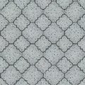 Pavement seamless tileable texture light gray figured Stock Images
