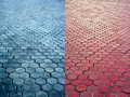 Pavement surfaces Stock Images