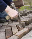 Paver Royalty Free Stock Photo