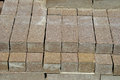 Pavers image of a stack of paving bricks Stock Photos
