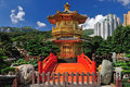 The pavilion of absolute perfection in the nan lian garden hong kong Stock Photography
